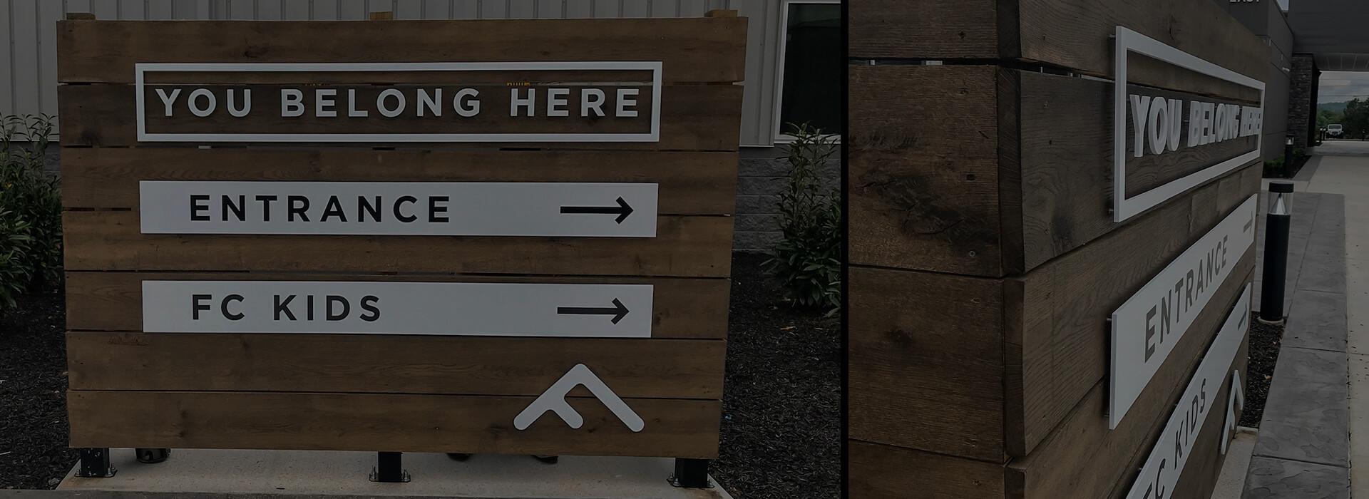 Exterior & Wayfinding Signage