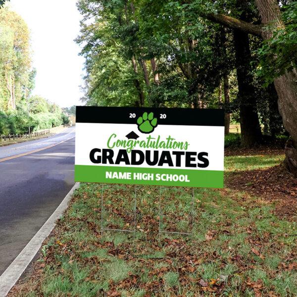 Large Graduation Yard Sign