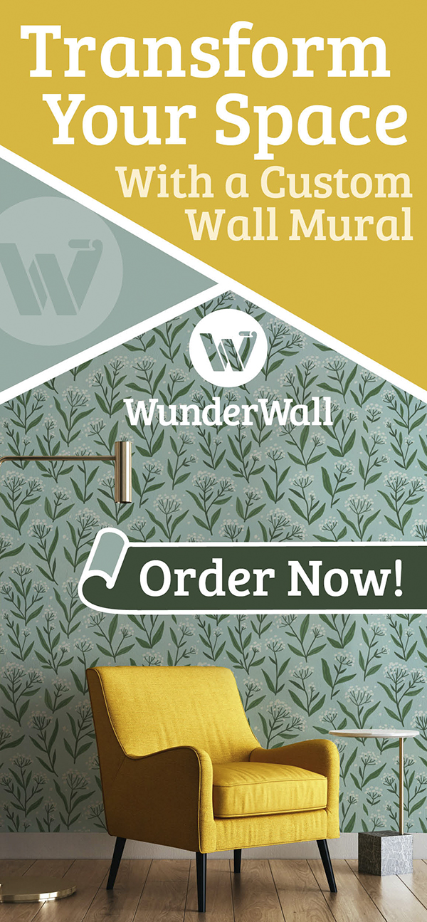 Transform your space with a custom wall mural from WunderWall Mural